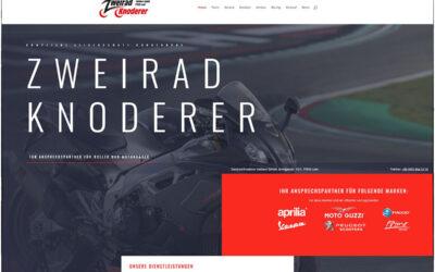Neue Website Zweirad Knoderer ist online